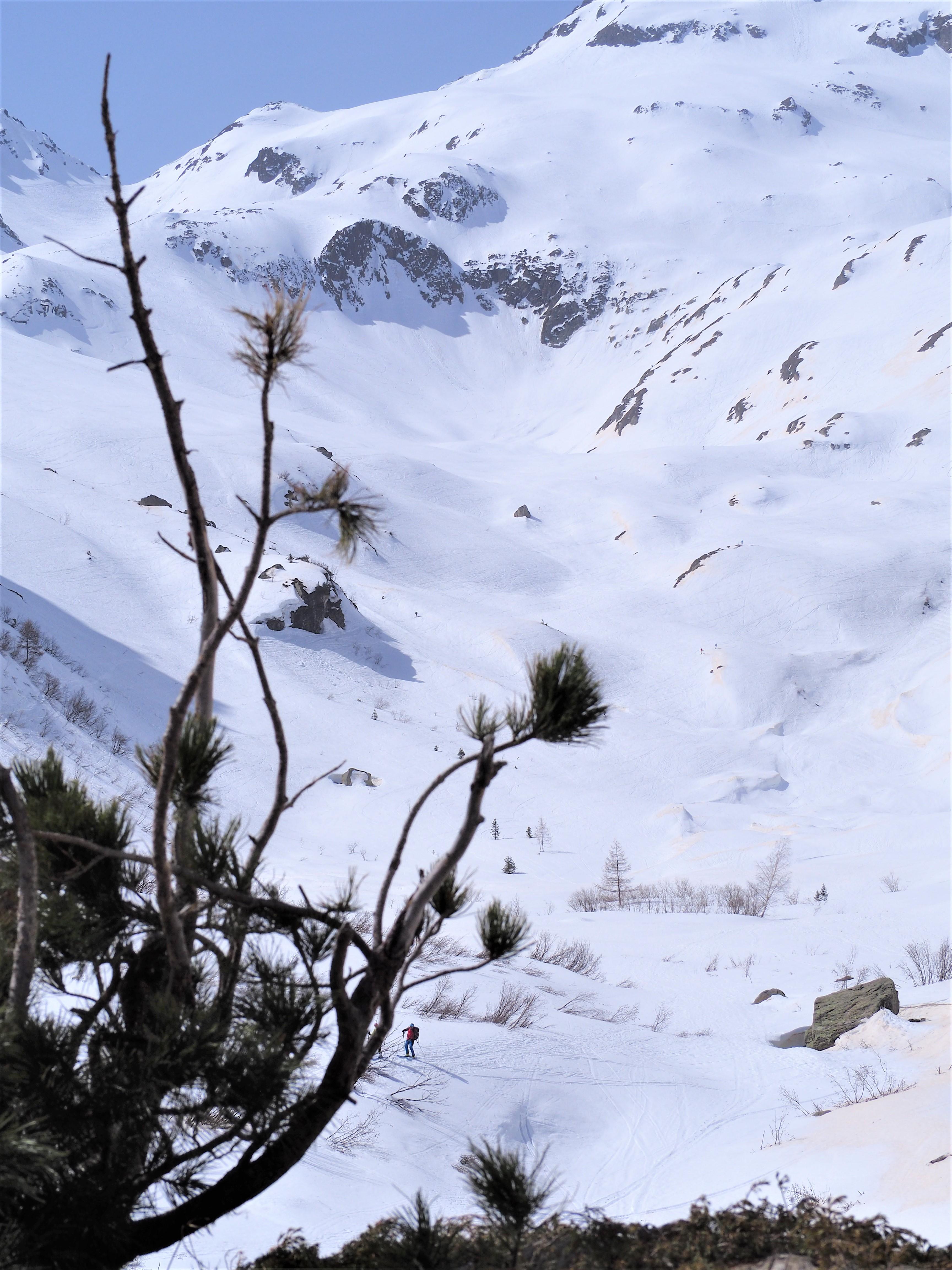 randonnée en raquette vetrs Chamonix
