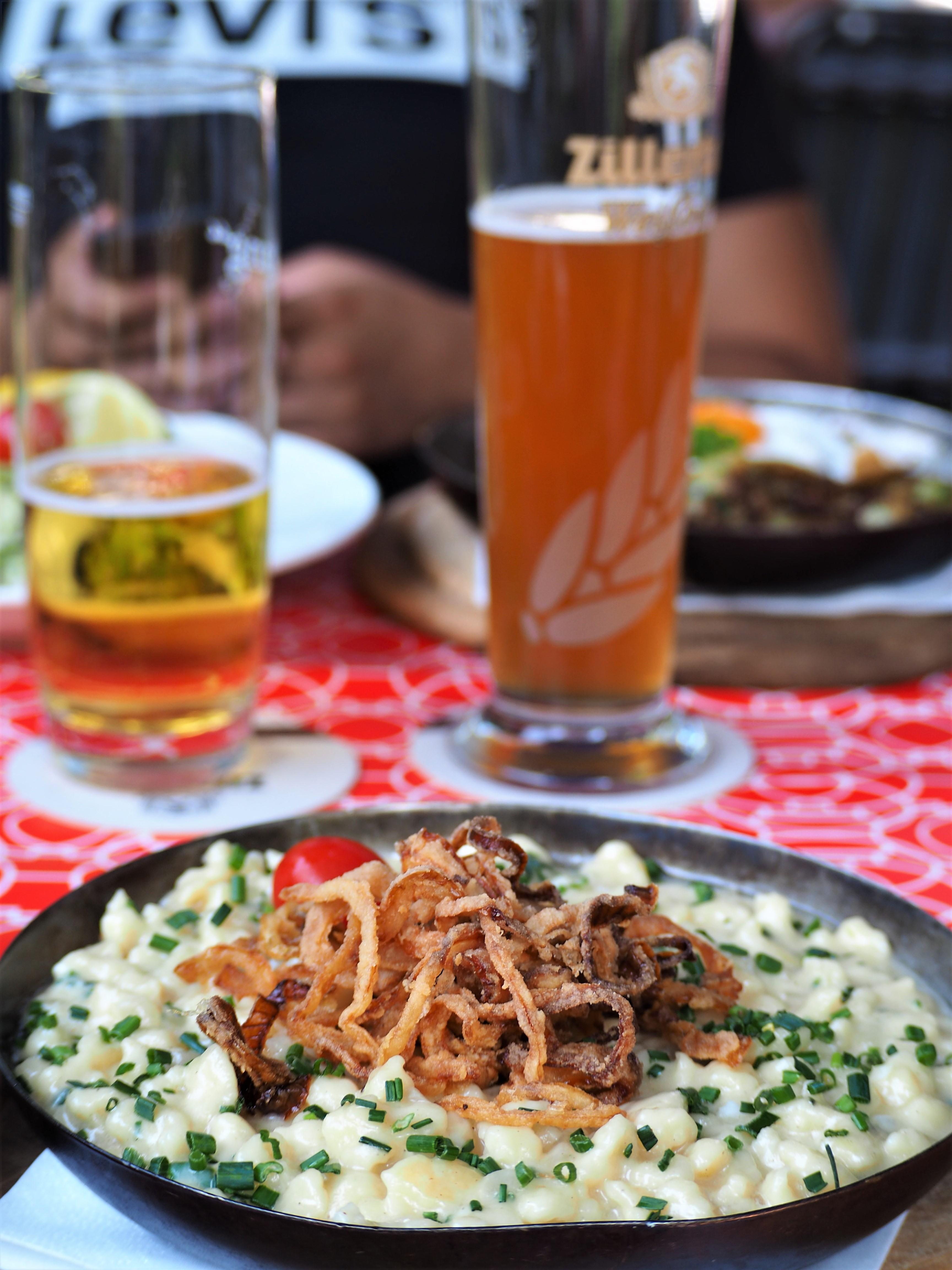 kasespatzle innsbruck spécialités autrichienne blog voyage