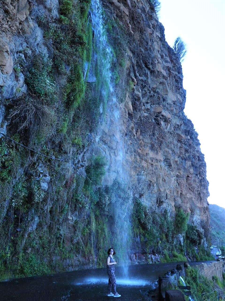 cascade dos anjos et clioandco à Madère voyage blog