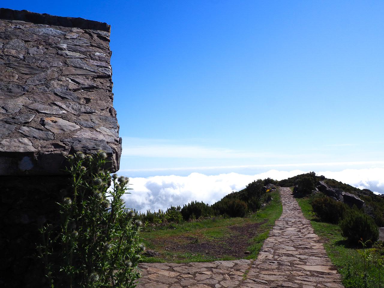pico ruivo madère randonnée