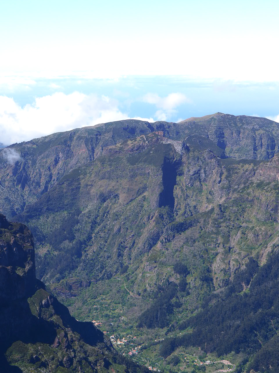 village pico ruivo randonnée