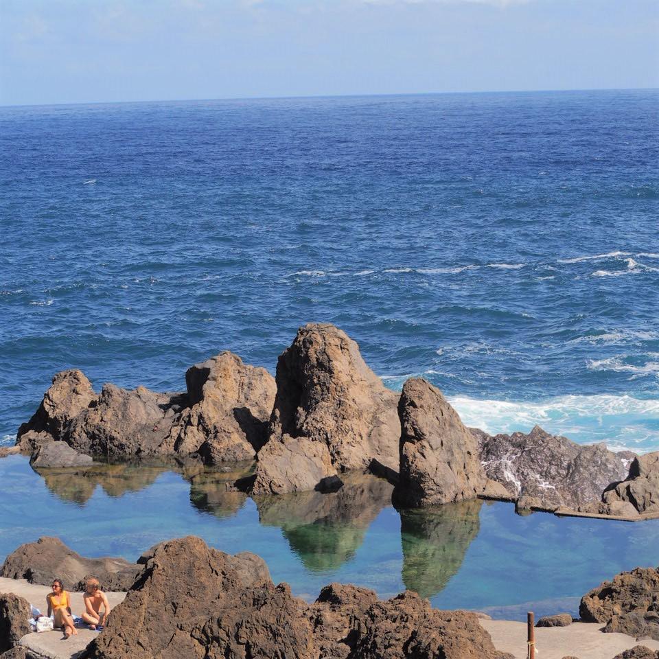 porto moniz piscine naturelles bain