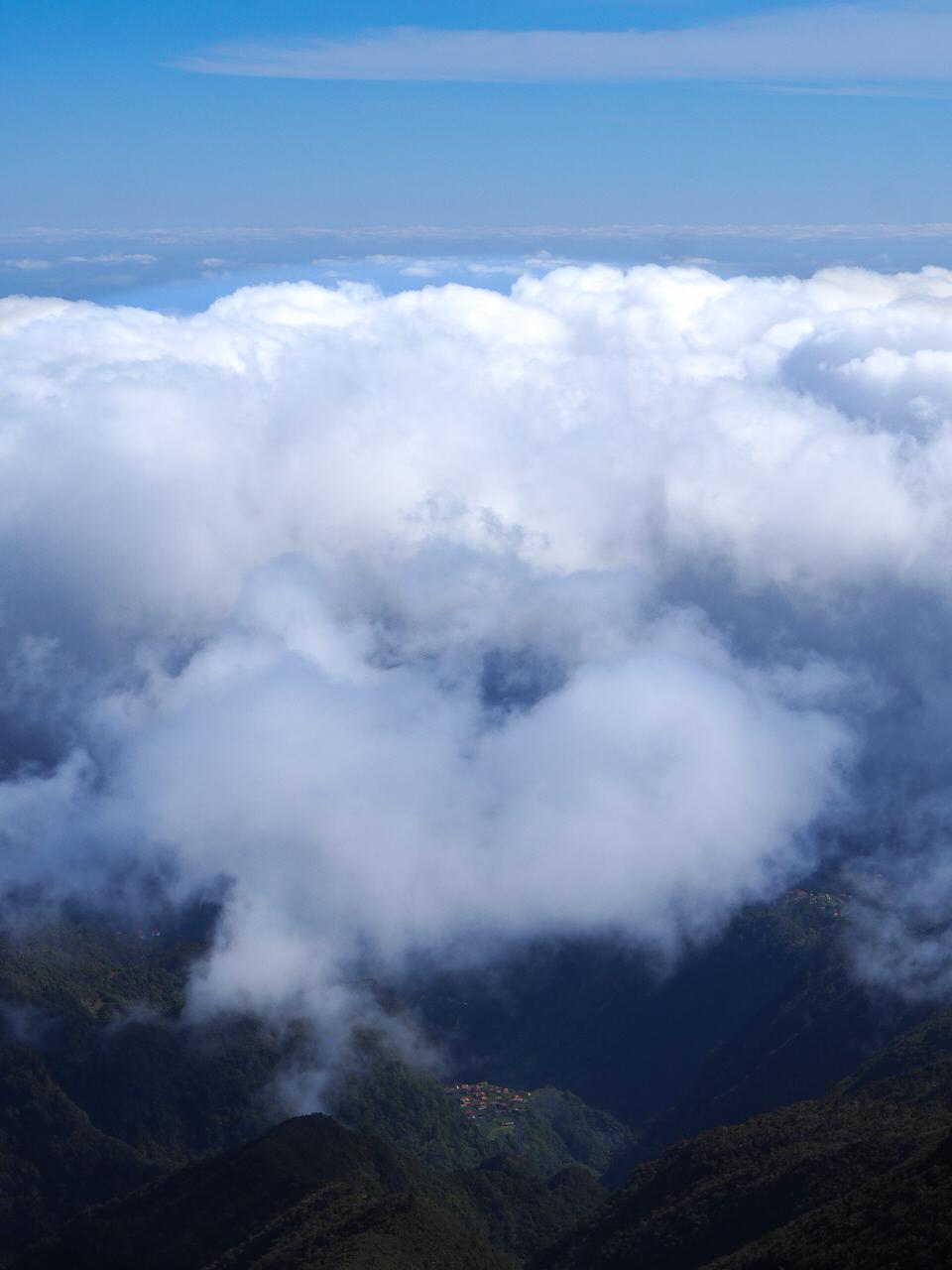 randonnée pico ruivo madère mer de nuage